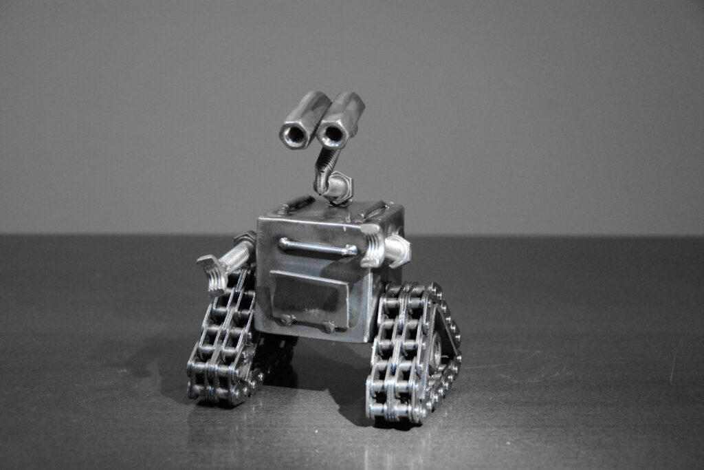Wall-E - statyczna wersja robota z Fabryki Robotów w Mosznej