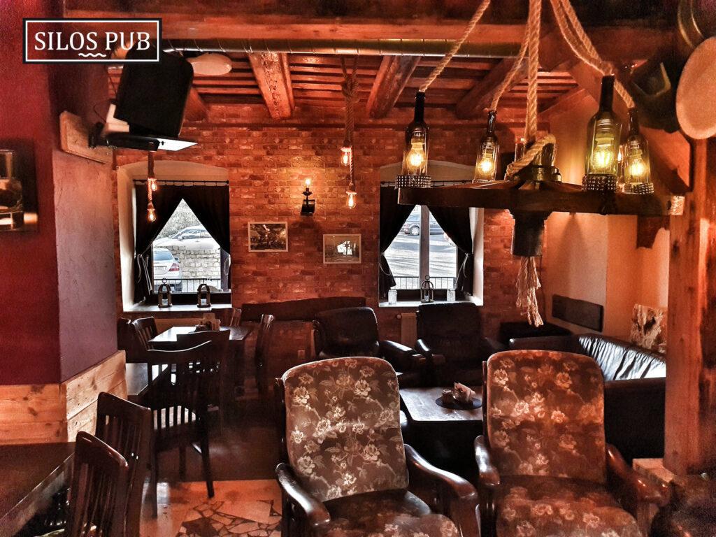 Wnętrza Silos Pub Krapkowice